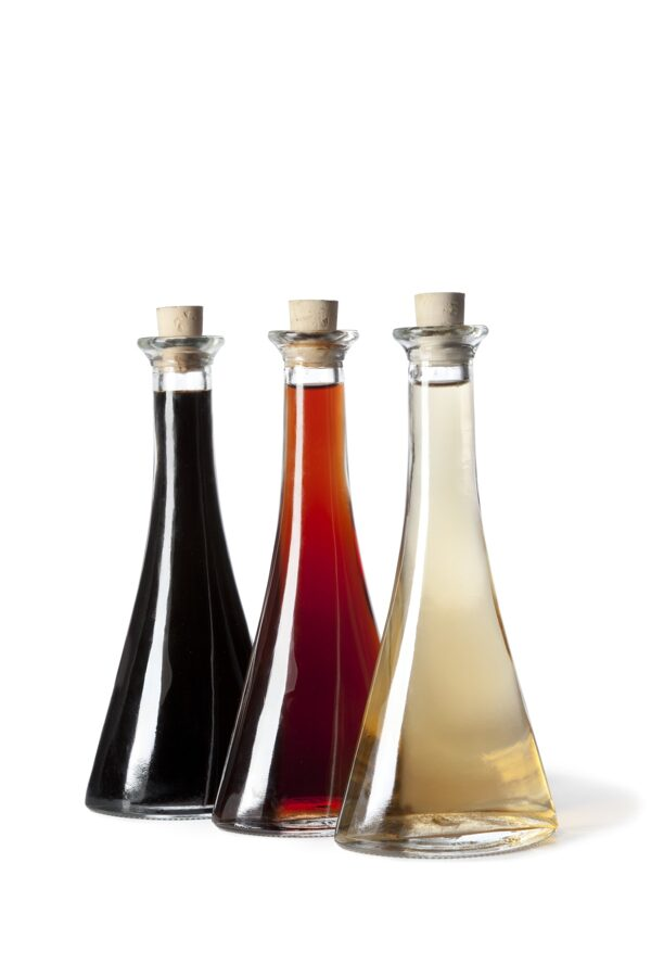 Vīnogu vīna etiķis sarkanais