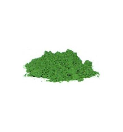 Minerālu krāsa Zaļais oksīds