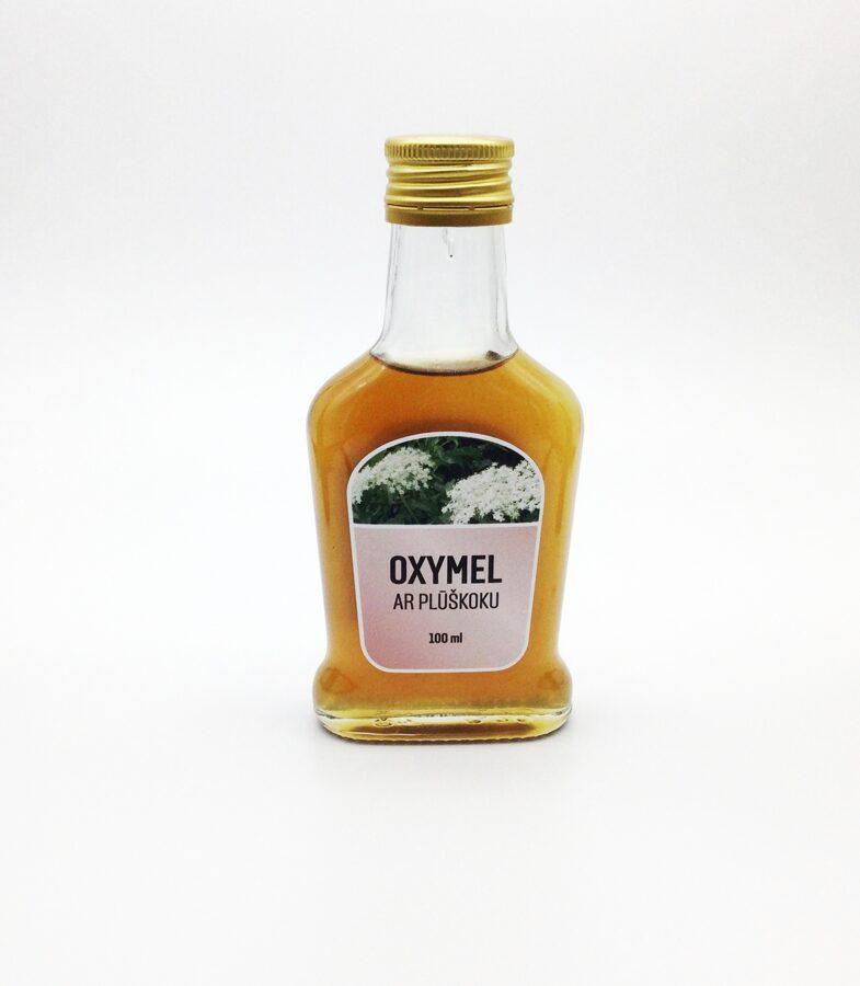 Medus sīrups (Oxymel) ar plūškoku